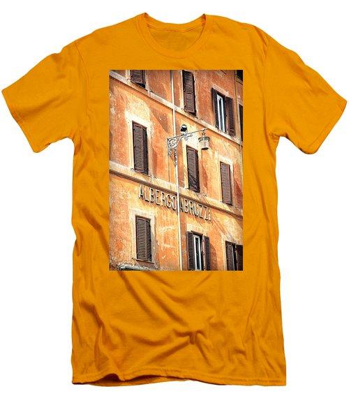 Albergo Abruzzi Men's T-Shirt (Athletic Fit)