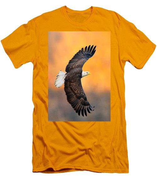 Autumn Eagle Men's T-Shirt (Athletic Fit)