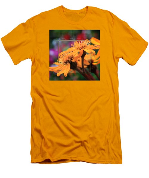 Men's T-Shirt (Slim Fit) featuring the photograph Autumn's Glory by Sandra Foster