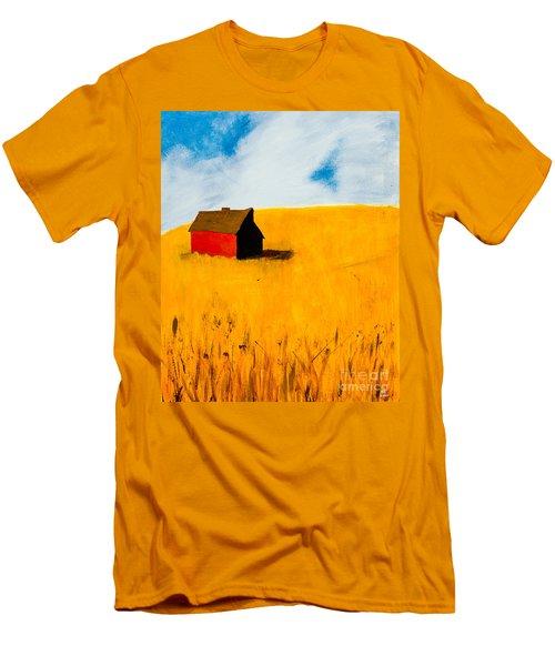 Barn Men's T-Shirt (Slim Fit) by Stefanie Forck