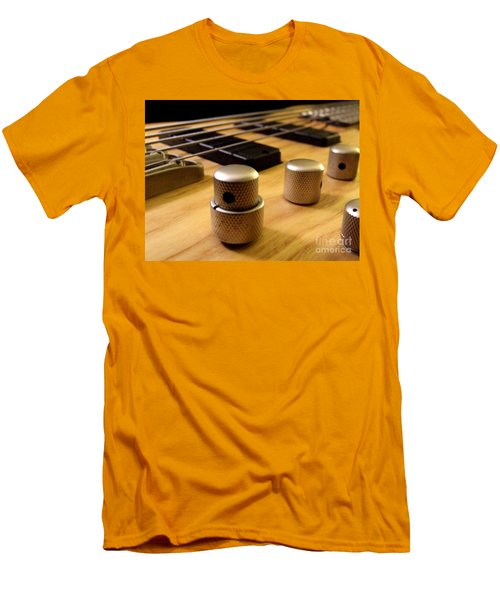 Men's T-Shirt (Slim Fit) featuring the photograph Bass by Andrea Anderegg