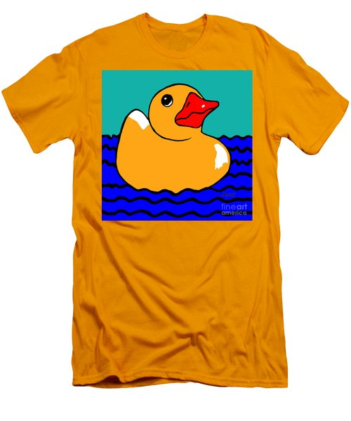 Rubber Ducky Men's T-Shirt (Athletic Fit)