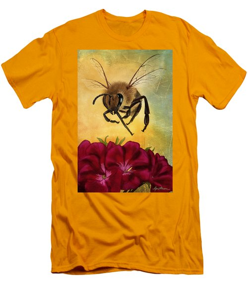 Bee I Men's T-Shirt (Athletic Fit)