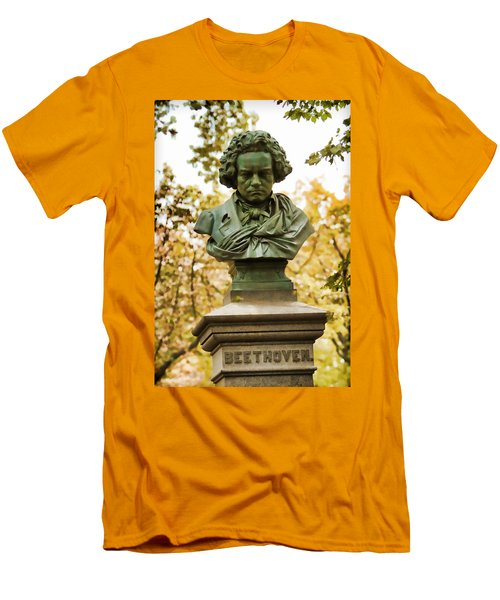 Beethoven In Central Park Men's T-Shirt (Athletic Fit)