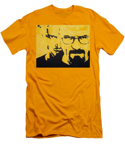 Breaking Bad Yellow Men's T-Shirt (Athletic Fit)
