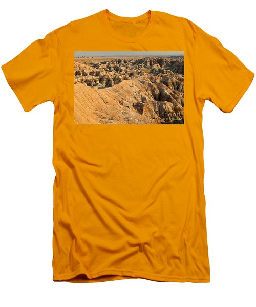 Burns Basin Overlook Badlands National Park Men's T-Shirt (Athletic Fit)