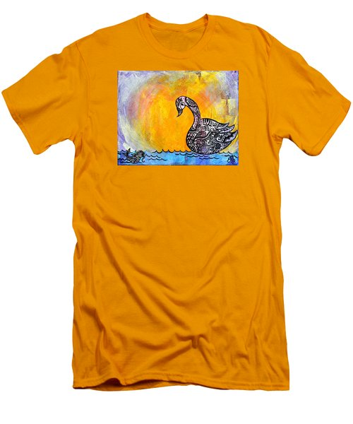 Calming Waters Men's T-Shirt (Athletic Fit)