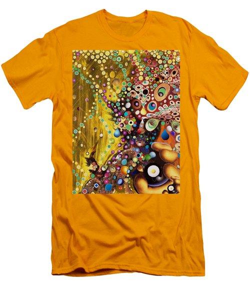Color Intoxication Remix Men's T-Shirt (Slim Fit) by Douglas Fromm