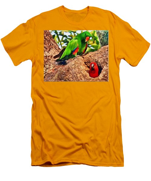 Colorfully Bright Men's T-Shirt (Athletic Fit)