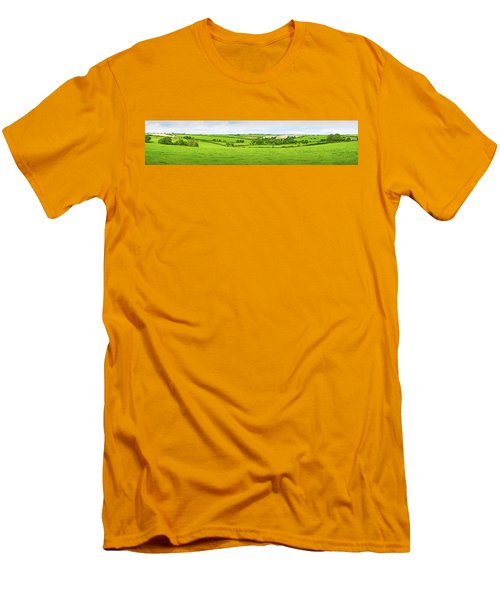 Cornwall Panorama Color Men's T-Shirt (Athletic Fit)