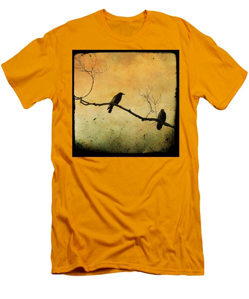 Crowded Branch Men's T-Shirt (Athletic Fit)