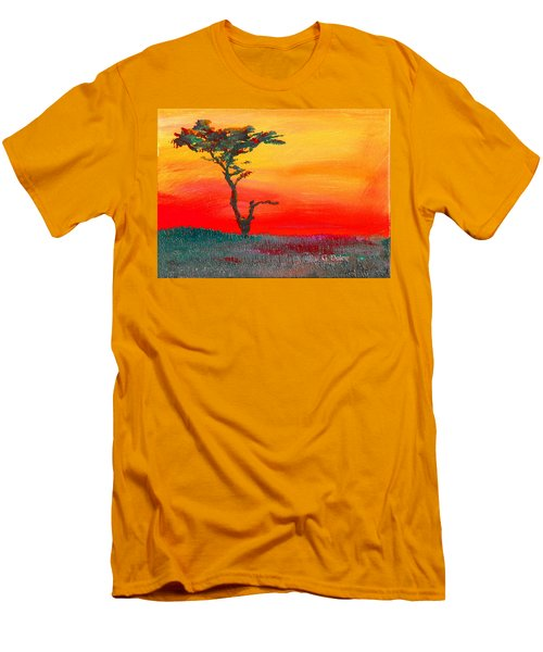 Cypress Sunrise Men's T-Shirt (Athletic Fit)