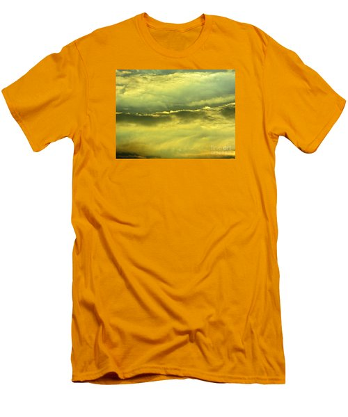 Day Is Done Men's T-Shirt (Slim Fit) by Joy Hardee