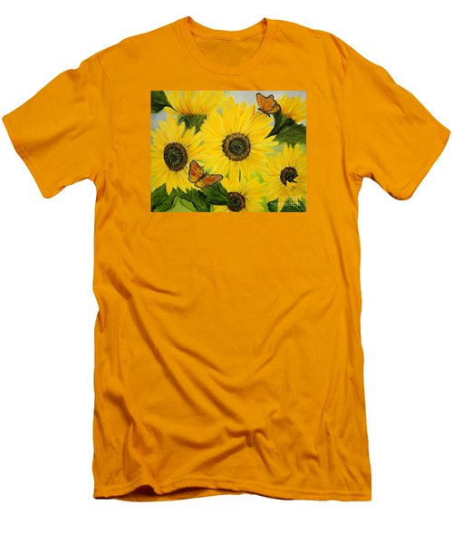 Dreaming Of Summer Men's T-Shirt (Slim Fit) by Carol Sweetwood