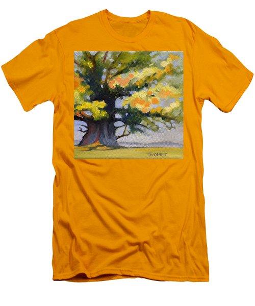 Earlysville Virginia Ancient White Oak Men's T-Shirt (Athletic Fit)
