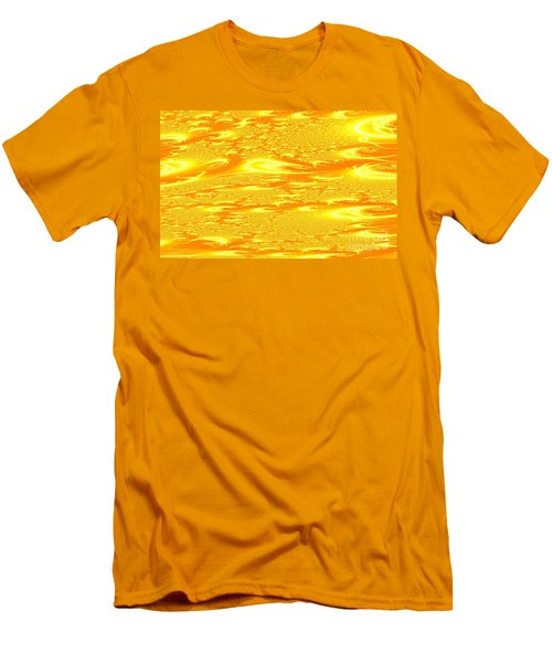 Hot Energy Men's T-Shirt (Athletic Fit)