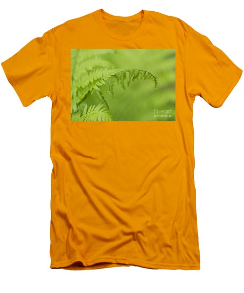 Men's T-Shirt (Slim Fit) featuring the photograph Fern by Alana Ranney