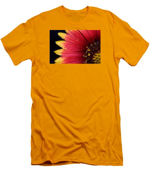 Men's T-Shirt (Slim Fit) featuring the photograph Fire Spokes by Paul Rebmann
