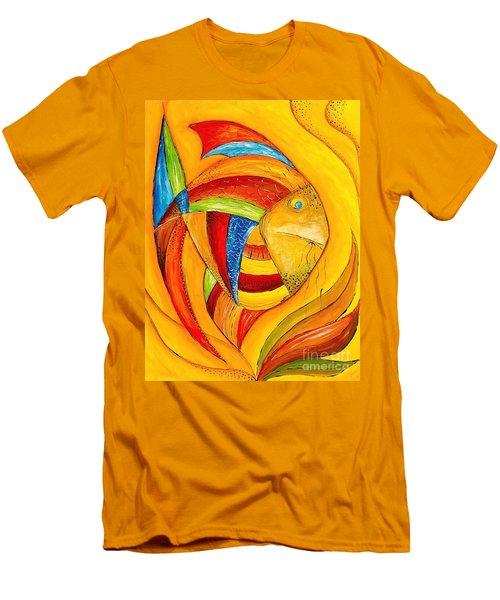 Fish 428-08-13 Marucii Men's T-Shirt (Athletic Fit)
