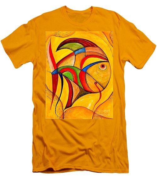 Fish 534-11-13 Marucii Men's T-Shirt (Athletic Fit)