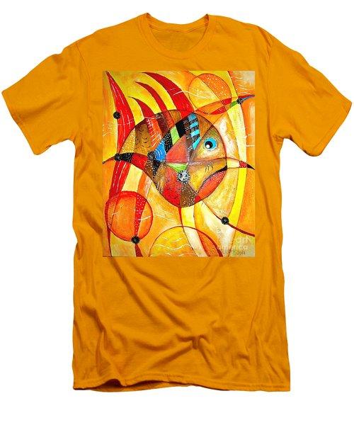 Fish 716-14 Marucii Men's T-Shirt (Athletic Fit)