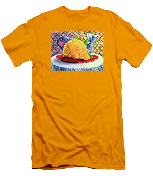 Fish Taco Men's T-Shirt (Athletic Fit)