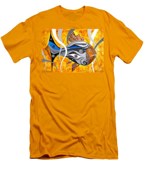 Fish Xi - Marucii Men's T-Shirt (Athletic Fit)