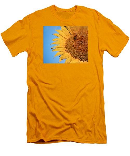 Men's T-Shirt (Slim Fit) featuring the photograph Flawed Beauty by Rima Biswas