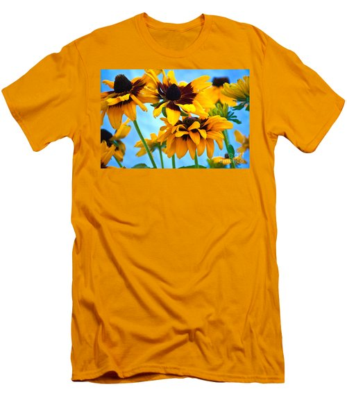 Floral 1 Men's T-Shirt (Athletic Fit)