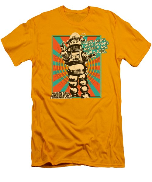 Forbidden Planet - Oil Job Men's T-Shirt (Athletic Fit)