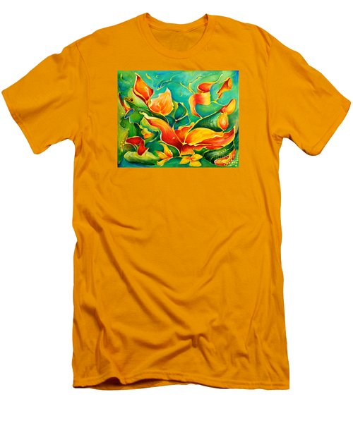 Garden Series No.3 Men's T-Shirt (Athletic Fit)