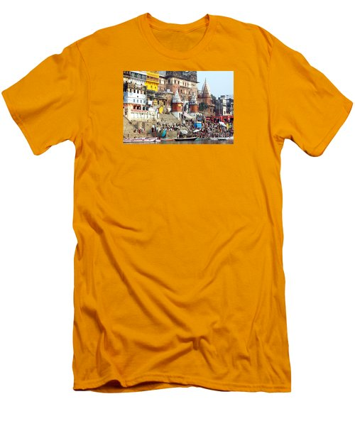 Good Morning Ganga Ji 2 Men's T-Shirt (Athletic Fit)