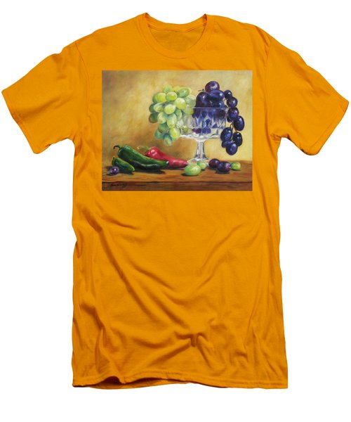 Grapes And Jalapenos Men's T-Shirt (Athletic Fit)