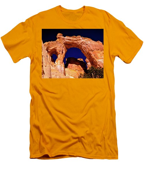 Grosvenor Arch Sunset Kodachrome Basin Men's T-Shirt (Athletic Fit)