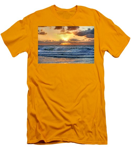 Gulf Waters Men's T-Shirt (Athletic Fit)