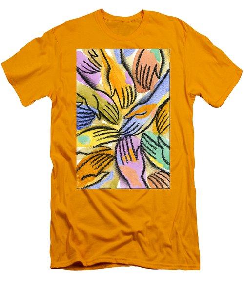 Multi-ethnic Harmony Men's T-Shirt (Athletic Fit)