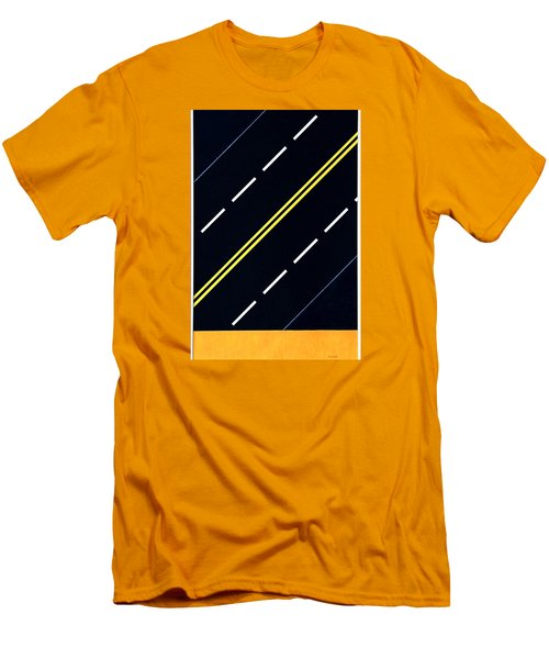 Highway Men's T-Shirt (Slim Fit) by Thomas Gronowski
