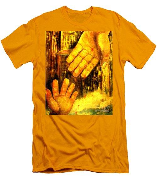 I Chose You Men's T-Shirt (Slim Fit) by Hazel Holland