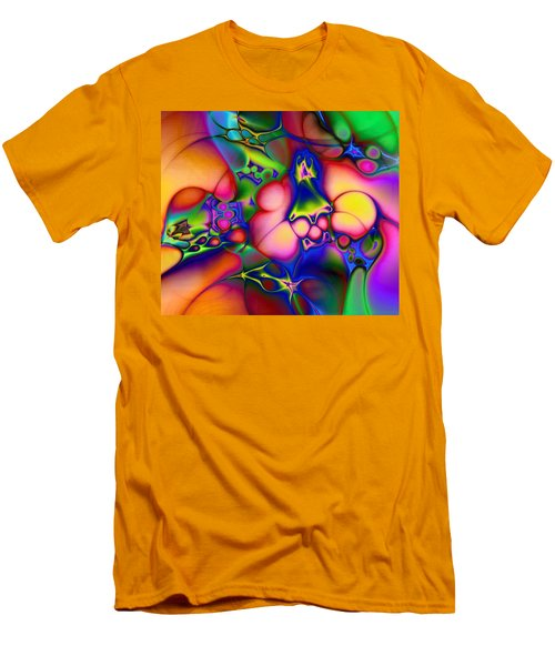 Men's T-Shirt (Slim Fit) featuring the digital art I Don't Think We're In Kansas Anymore by Casey Kotas