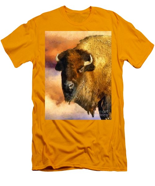 Icon Of The Plains Men's T-Shirt (Slim Fit) by RC deWinter