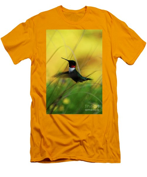 Just Flying Men's T-Shirt (Slim Fit) by Lori Tambakis