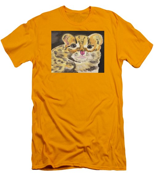 Peek A Boo Kitty Men's T-Shirt (Athletic Fit)