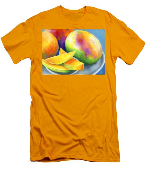 Last Mango In Paris Men's T-Shirt (Slim Fit) by Stephen Anderson