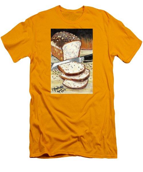 Loaf Of Bread Men's T-Shirt (Slim Fit)
