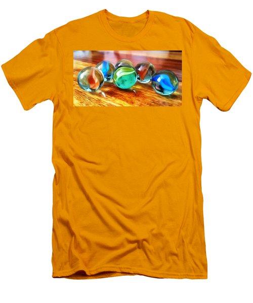 Marble Ducks Men's T-Shirt (Slim Fit)