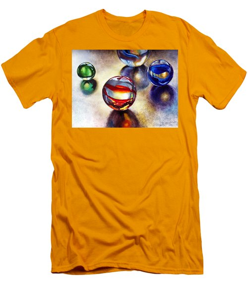 Marbles 2 Men's T-Shirt (Athletic Fit)