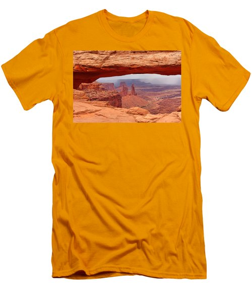 Mesa Arch In Canyonlands National Park Men's T-Shirt (Athletic Fit)