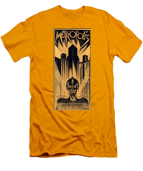 Metropolis Poster Men's T-Shirt (Athletic Fit)