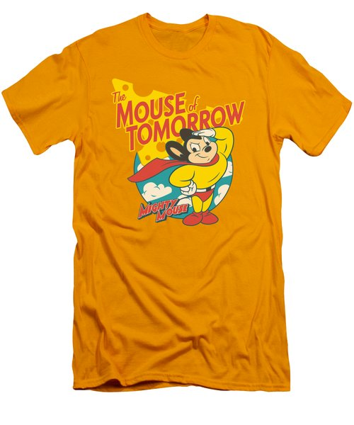 Mighty Mouse - Mouse Of Tomorrow Men's T-Shirt (Slim Fit) by Brand A