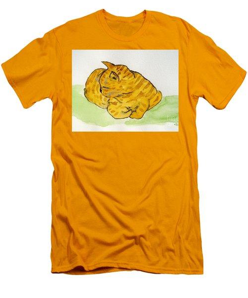 Mr. Yellow Men's T-Shirt (Slim Fit) by Reina Resto